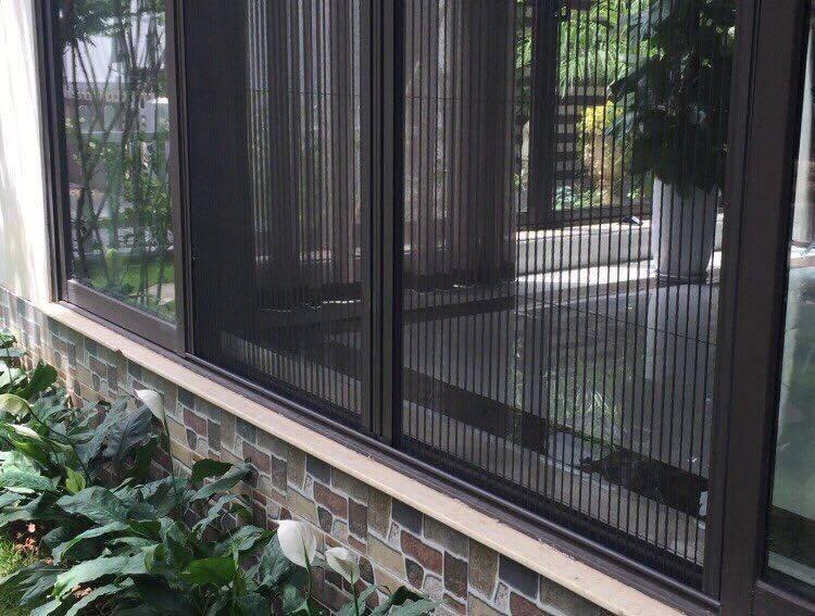 Lưới chống muỗi công ty chế biến thực phẩm đông lạnh
